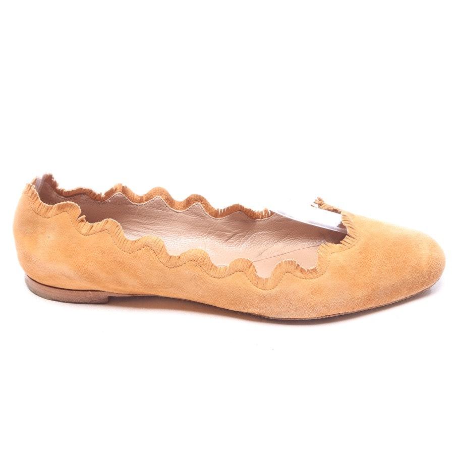 Ballerinas von Chloé in Cognac Gr. EUR 38