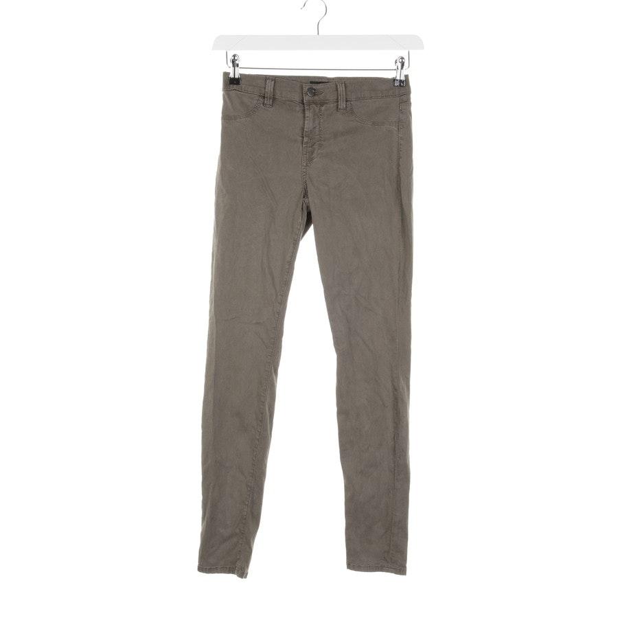 Jeans von J Brand in Olivgrün Gr. W27