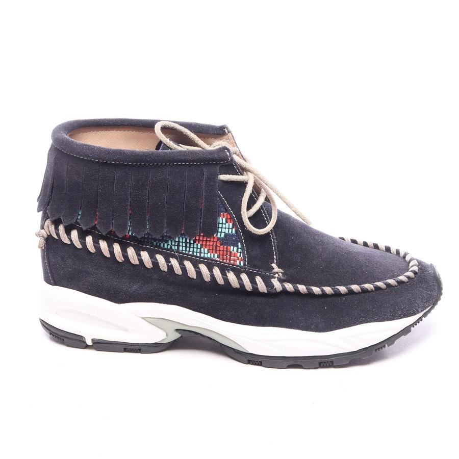 High-Top Sneaker von Philippe Model in Nachtblau und Weiß Gr. EUR 37 - Neu