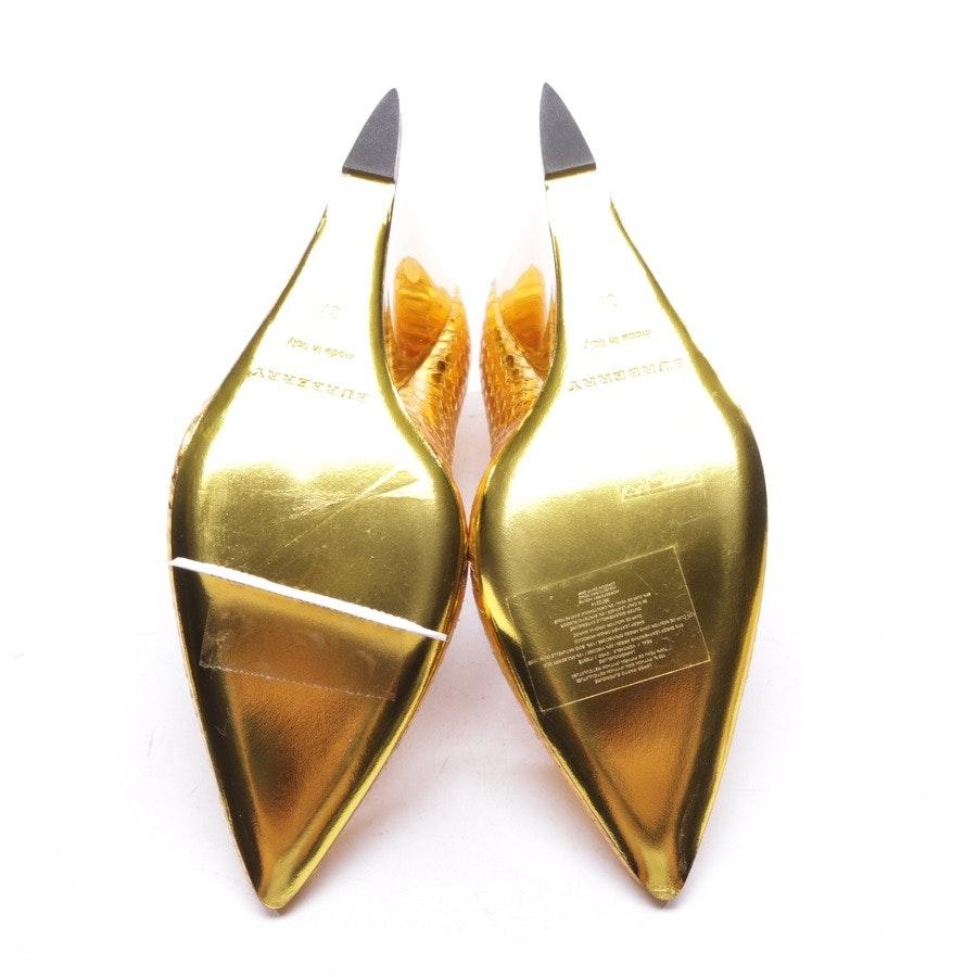Wedges von Burberry Prorsum in Gold Gr. EUR 37