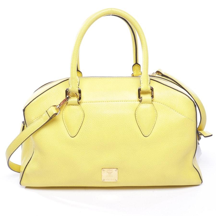 Handtasche von MCM in Senfgelb