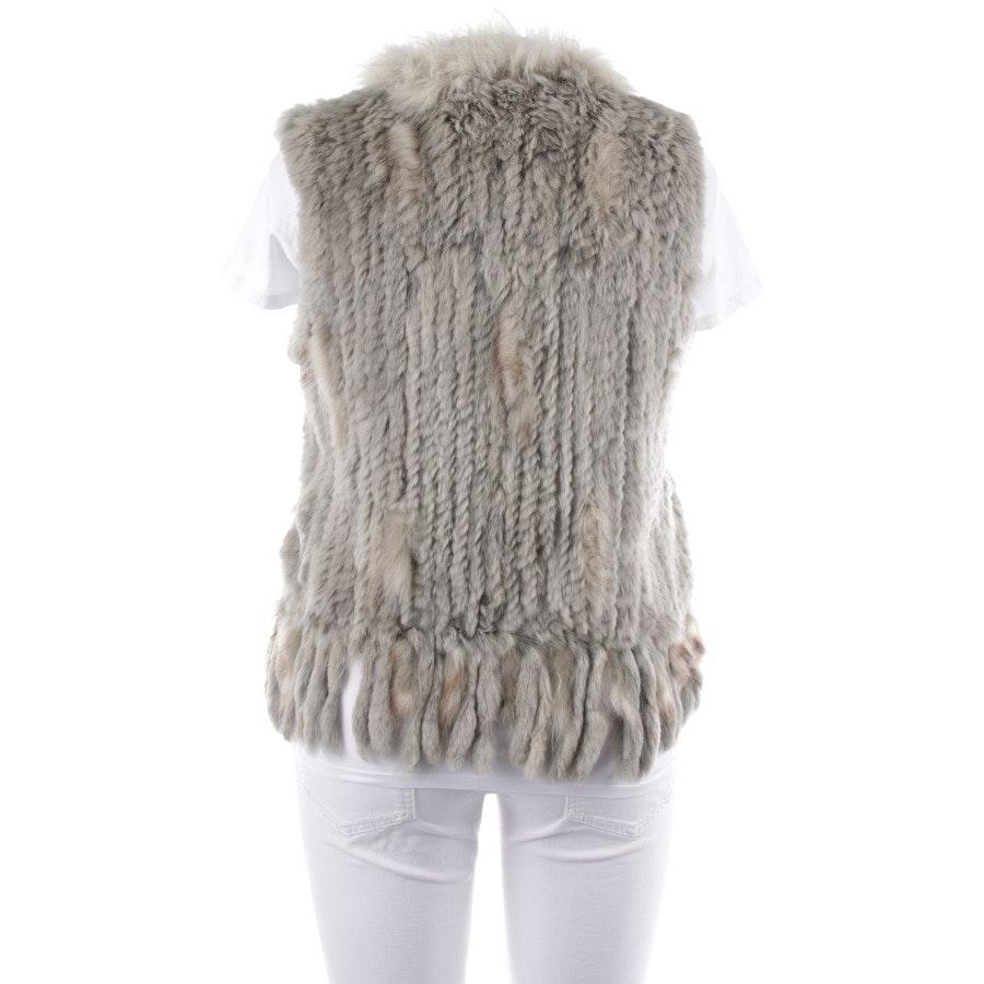 waistcoat from Oakwood in grey-green and beige size 40 / 4