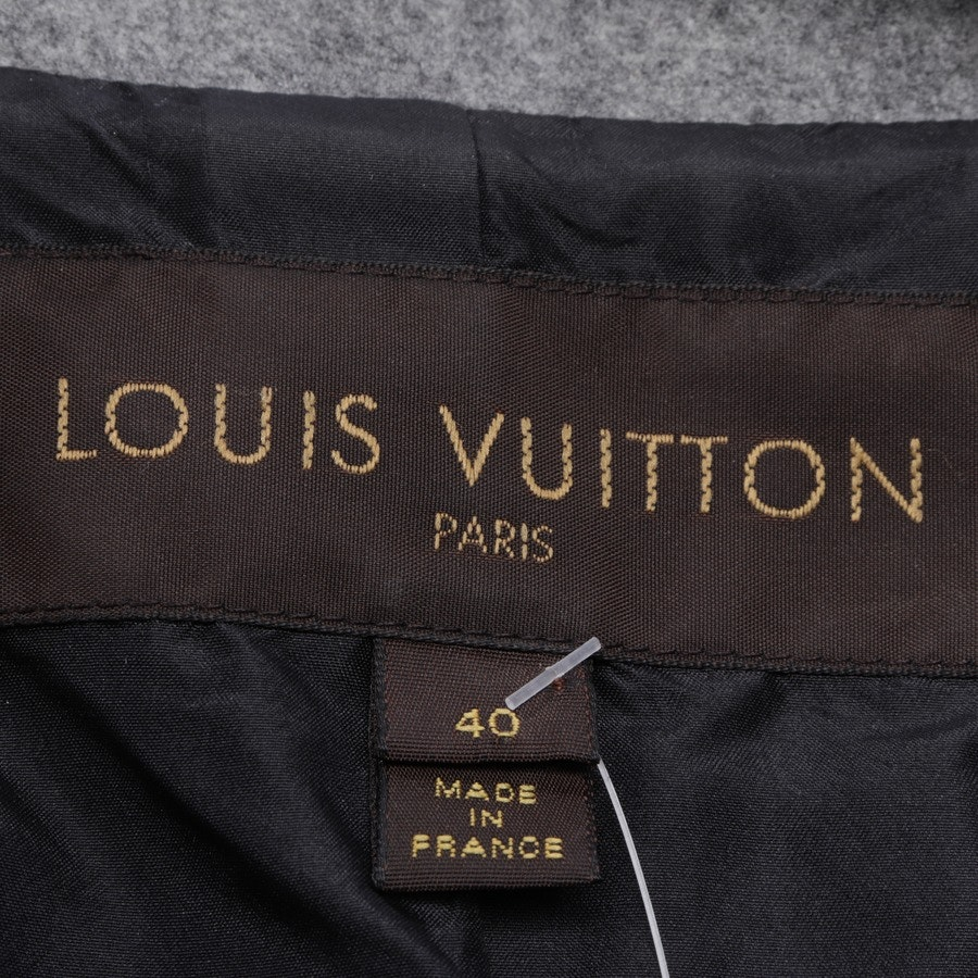 blazer from Louis Vuitton in greymelange and black size 34 IT 40