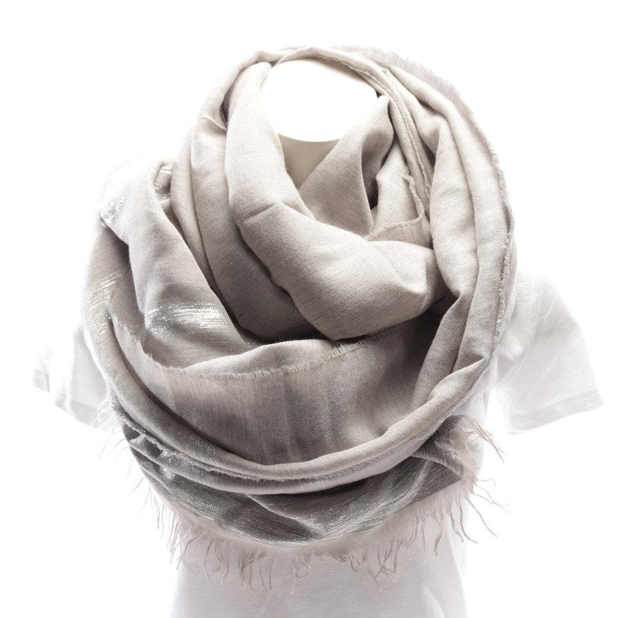 Schal von Fabiana Filippi in Grau und Silber