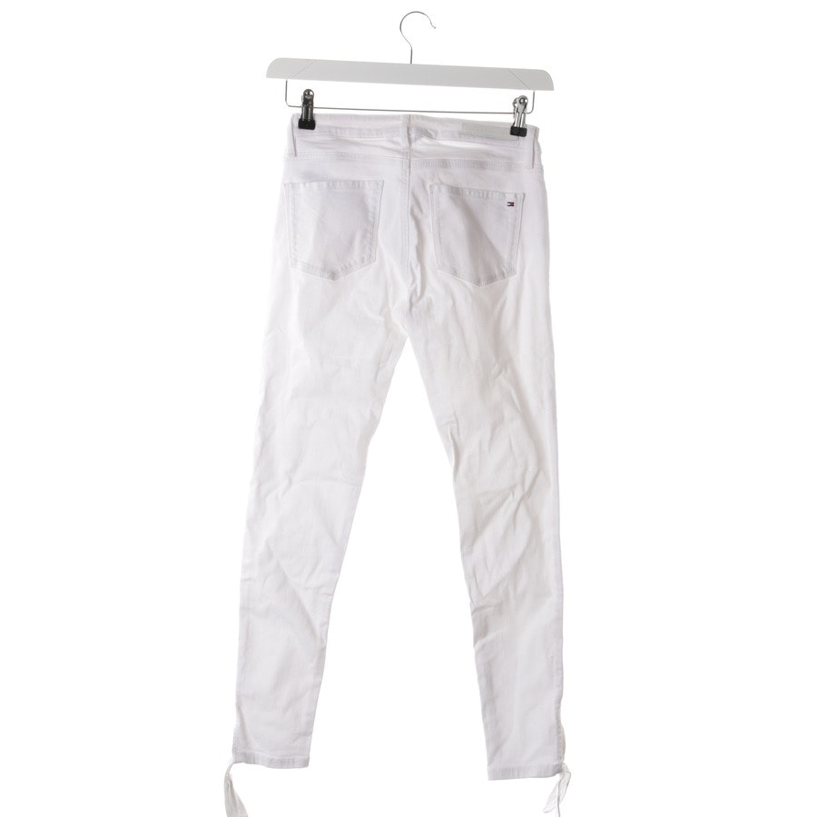 Jeans von Tommy Hilfiger in Weiß Gr. W28 - Como