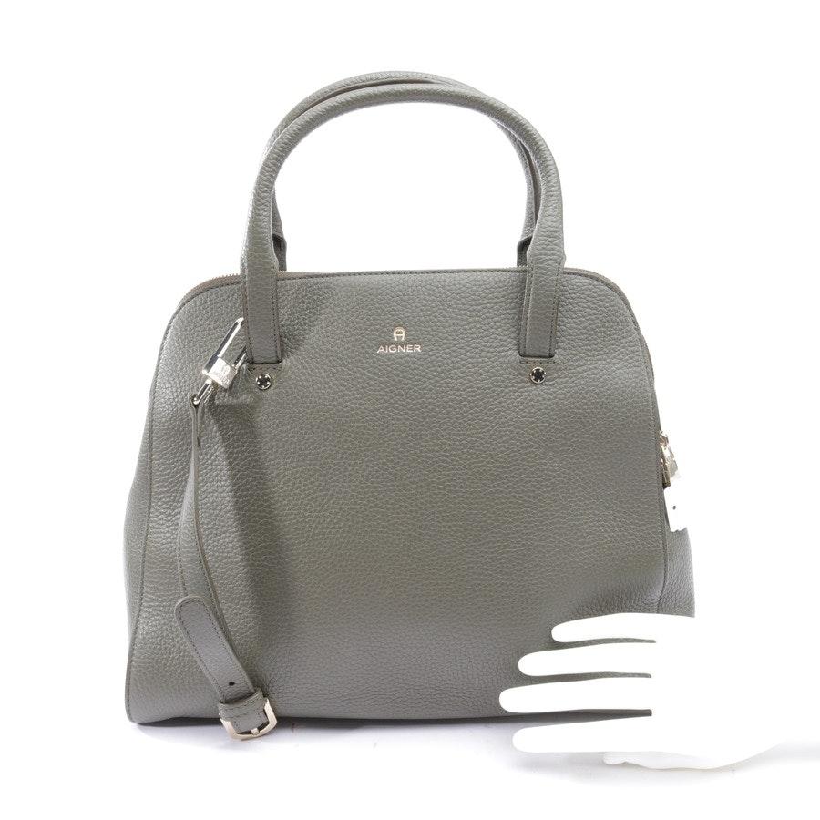 Handtasche von Aigner in Olivgrün