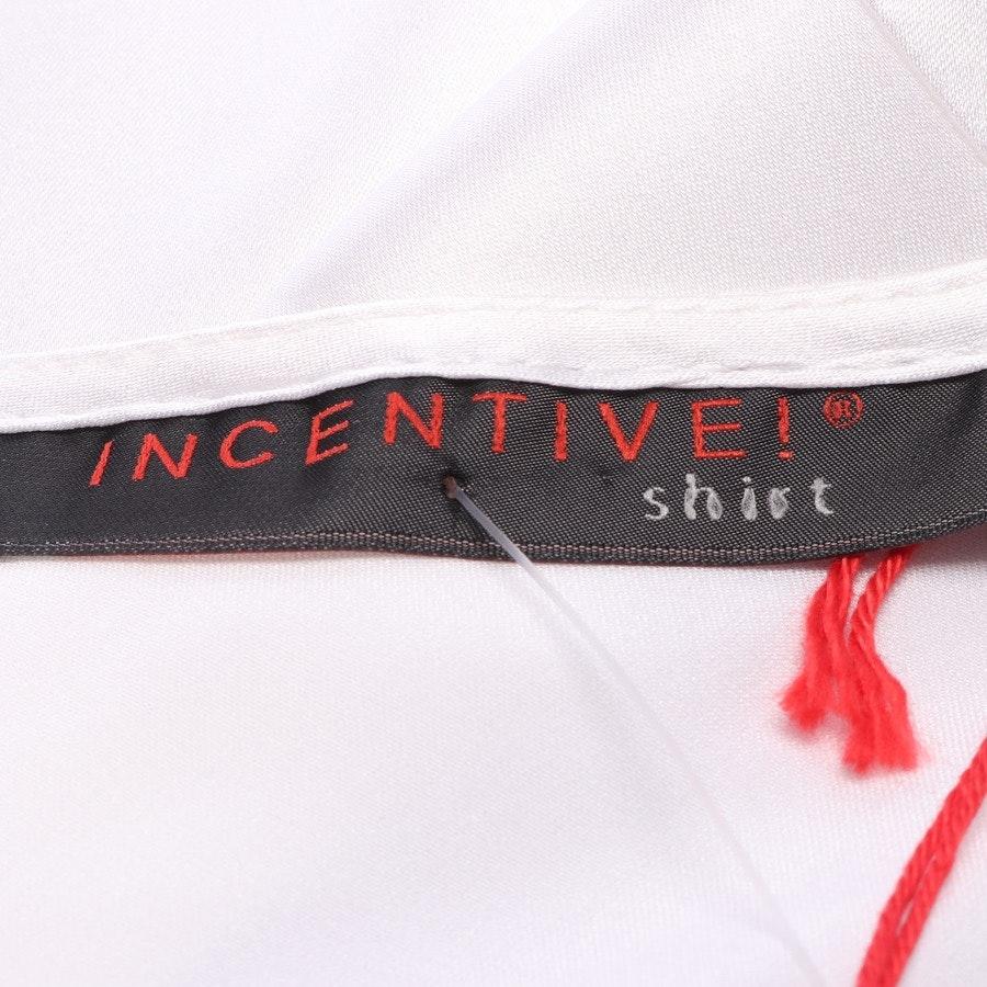 Seidenbluse von Incentive! Cashmere in Weiß Gr. XS - NEU mit Etikett