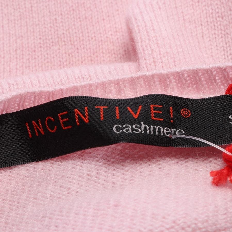 Kaschmirstrickjacke von Incentive! Cashmere in Rosa Gr. S - NEU mit Etikett