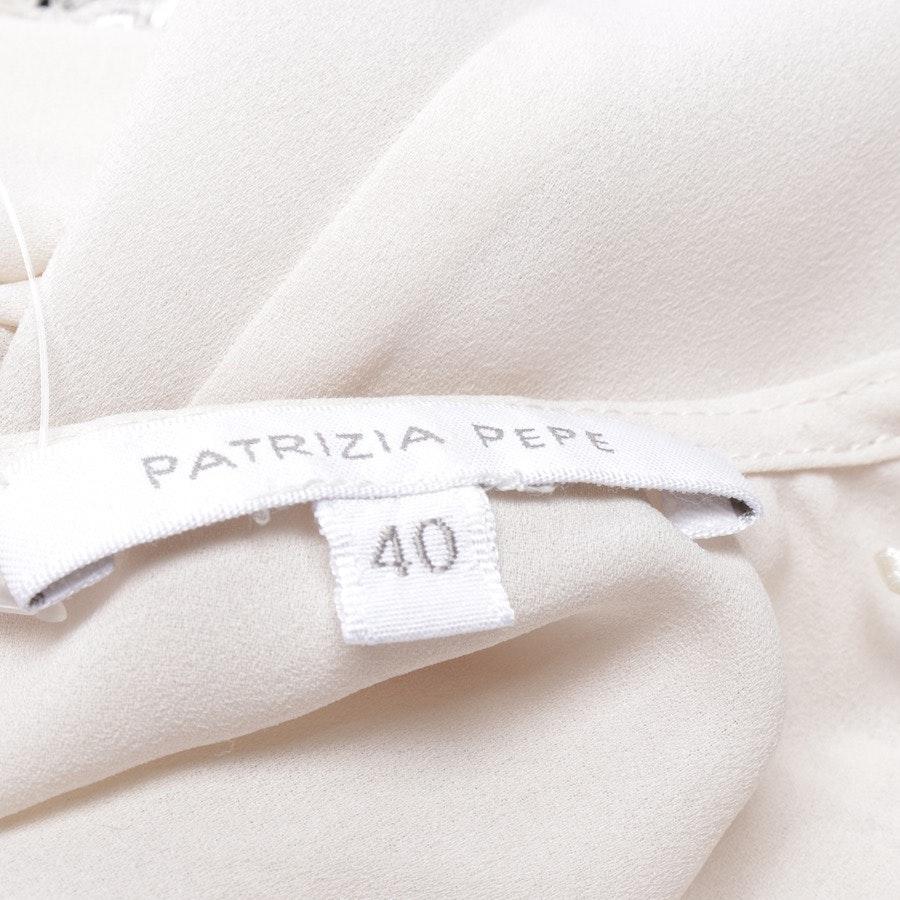 Jumpsuit von Patrizia Pepe in Creme und Schwarz Gr. 34 IT 40