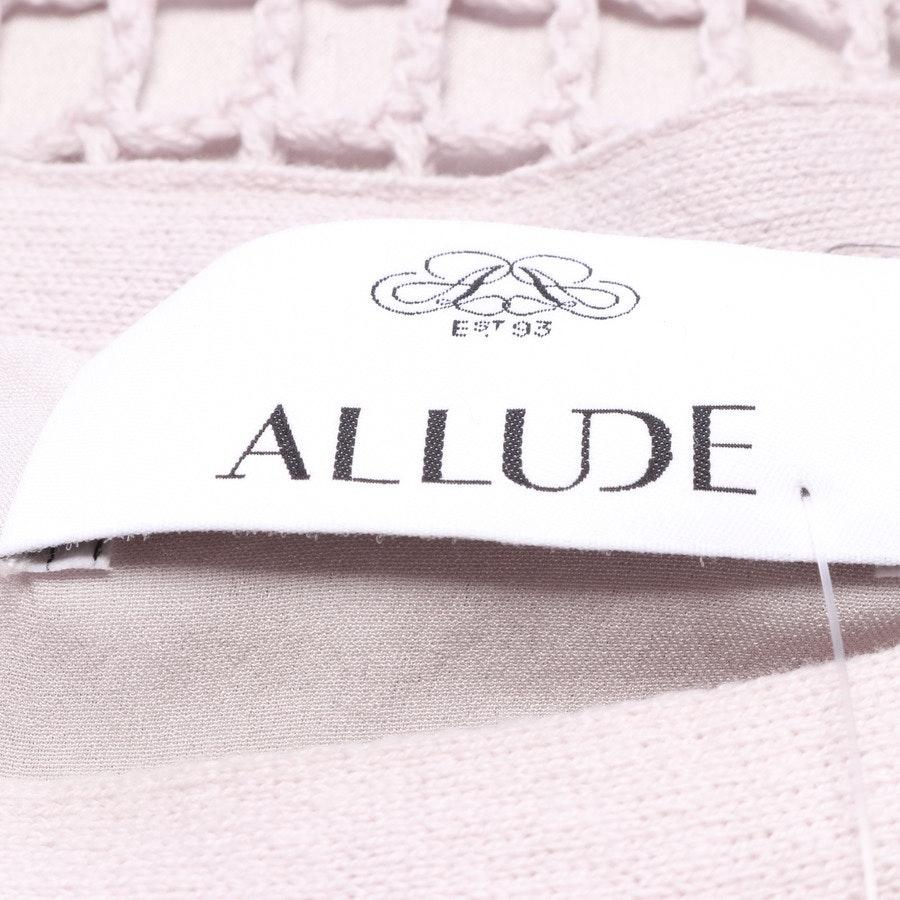 Kleid von Allude in Hellgrau Gr. M