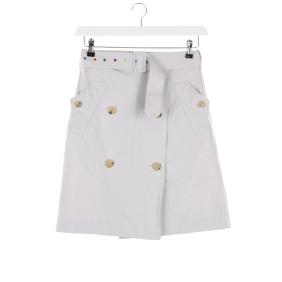 skirt from Paul Smith in light grey and multicolor size 34 IT 40