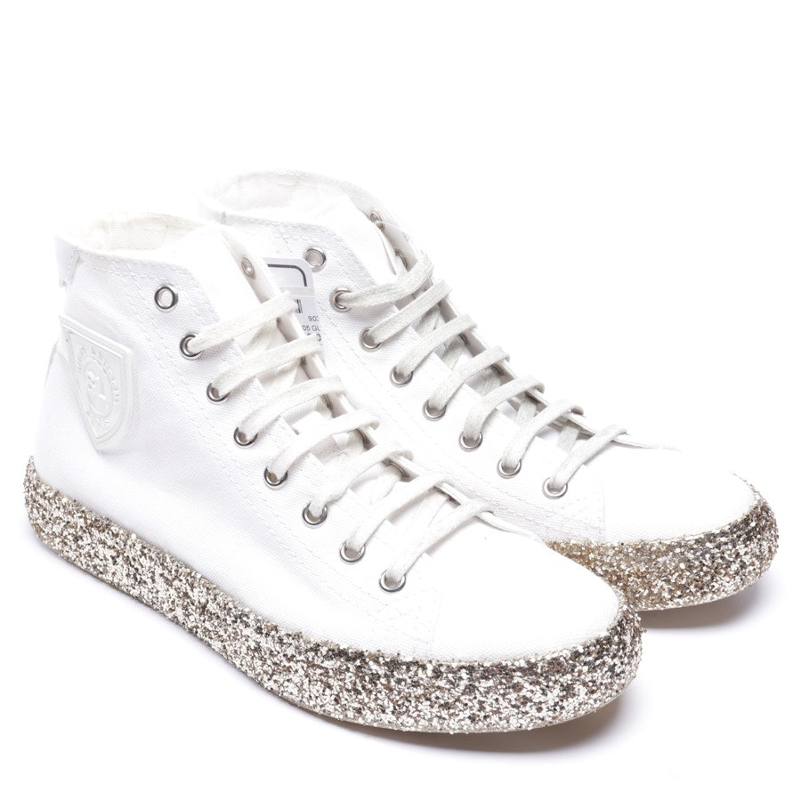 trainers from Saint Laurent in white and gold size EUR 37 - new
