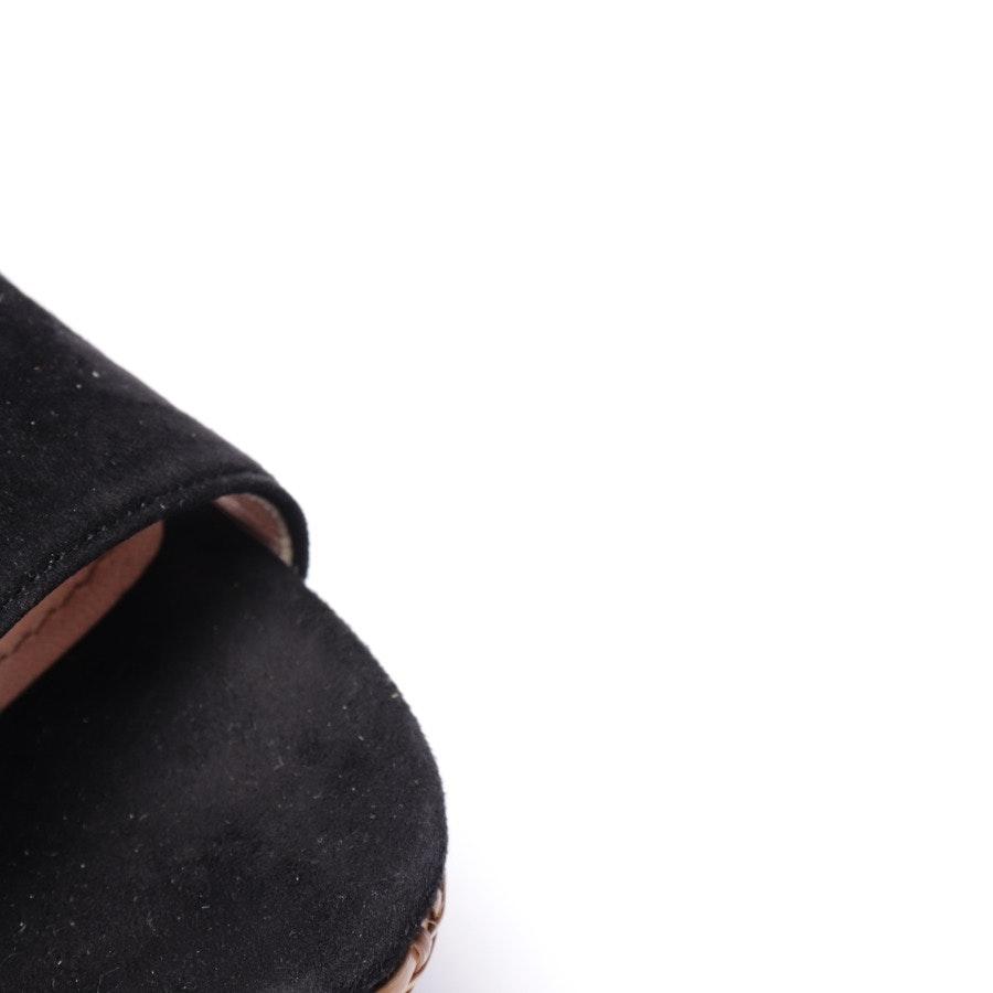 Sandaletten von Miu Miu in Schwarz Gr. EUR 38,5
