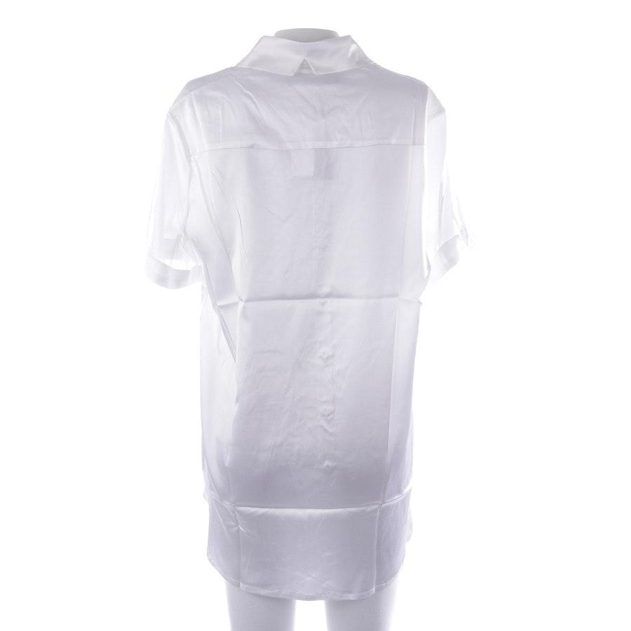Kurzarmbluse von Incentive! Cashmere in Weiß Gr. M - NEU mit Etikett