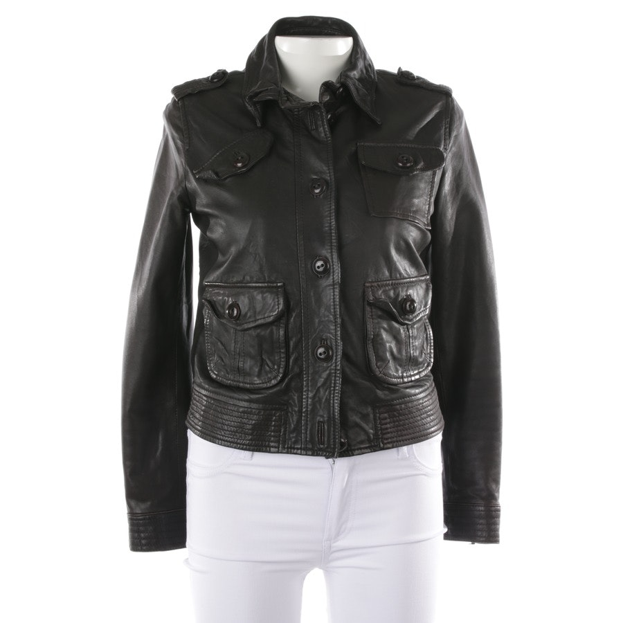 leather jacket from Drykorn in brown size 36 / 2