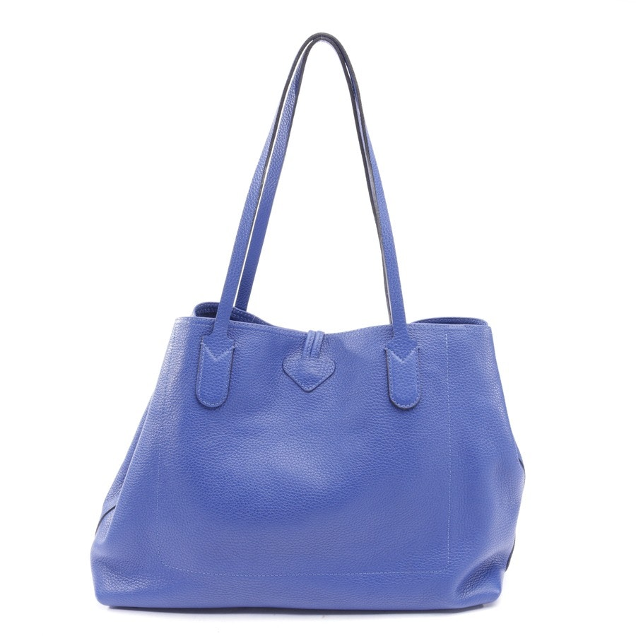Shopper von Longchamp in Kobalt
