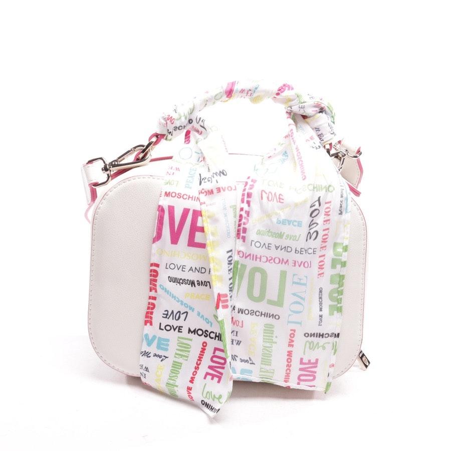 Abendtasche von Love Moschino in Weiß und Pink