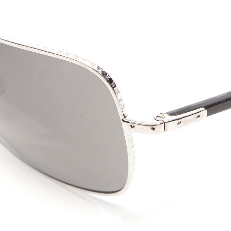 Sonnenbrille von Louis Vuitton in Silber und Schwarz - Z0195U