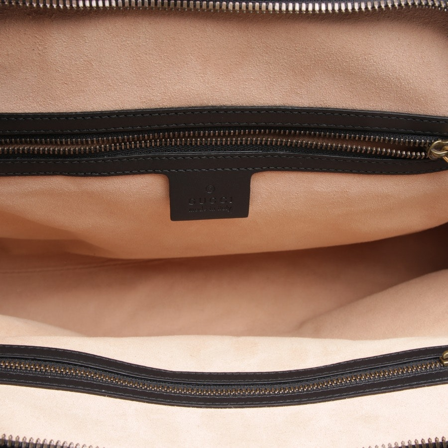 handbag from Gucci in brown and multi-coloured