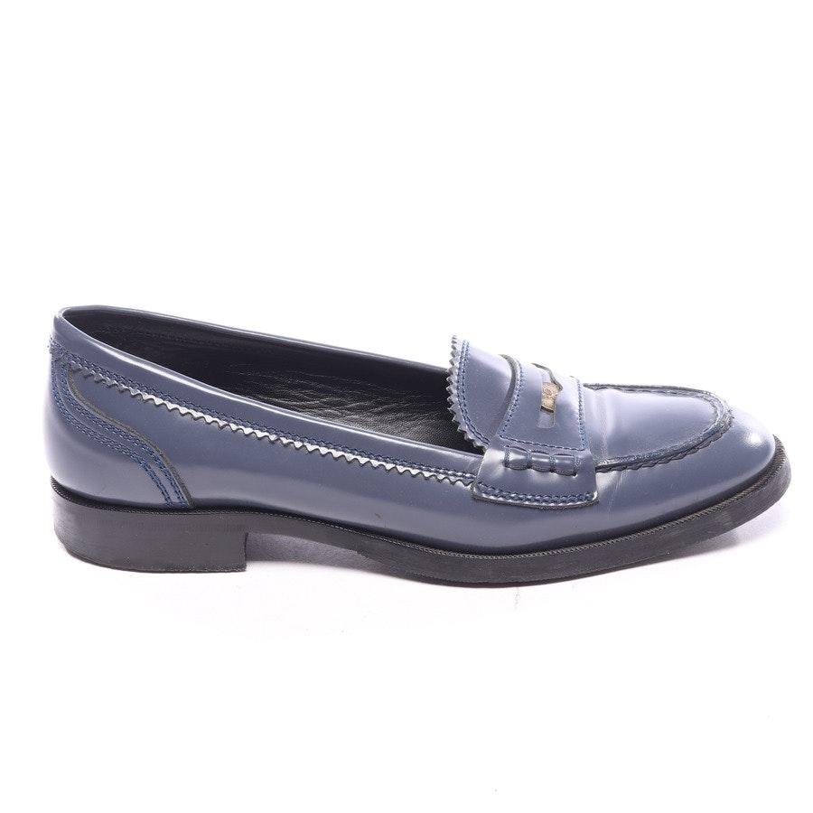 loafers from Bottega Veneta in petrol size EUR 38,5