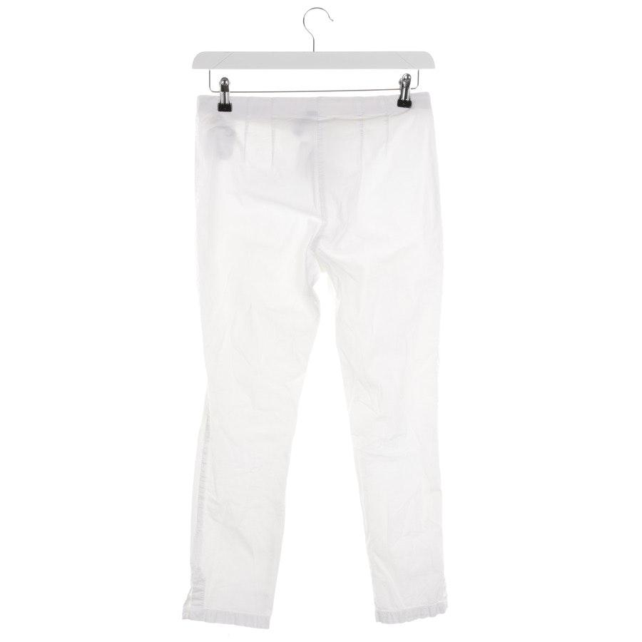 Stoffhose von Marc Cain in Weiß Gr. 36 N2