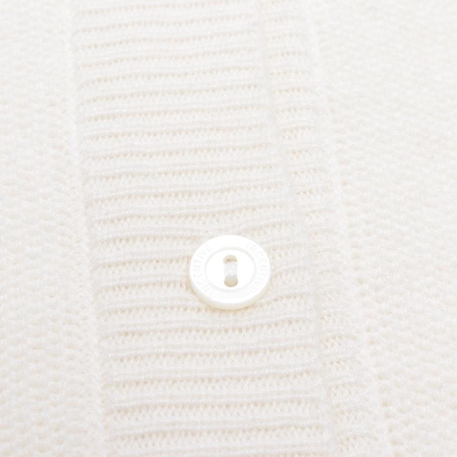 Kaschmirstrickjacke von Incentive! Cashmere in Creme Gr. S - NEU mit Etikett