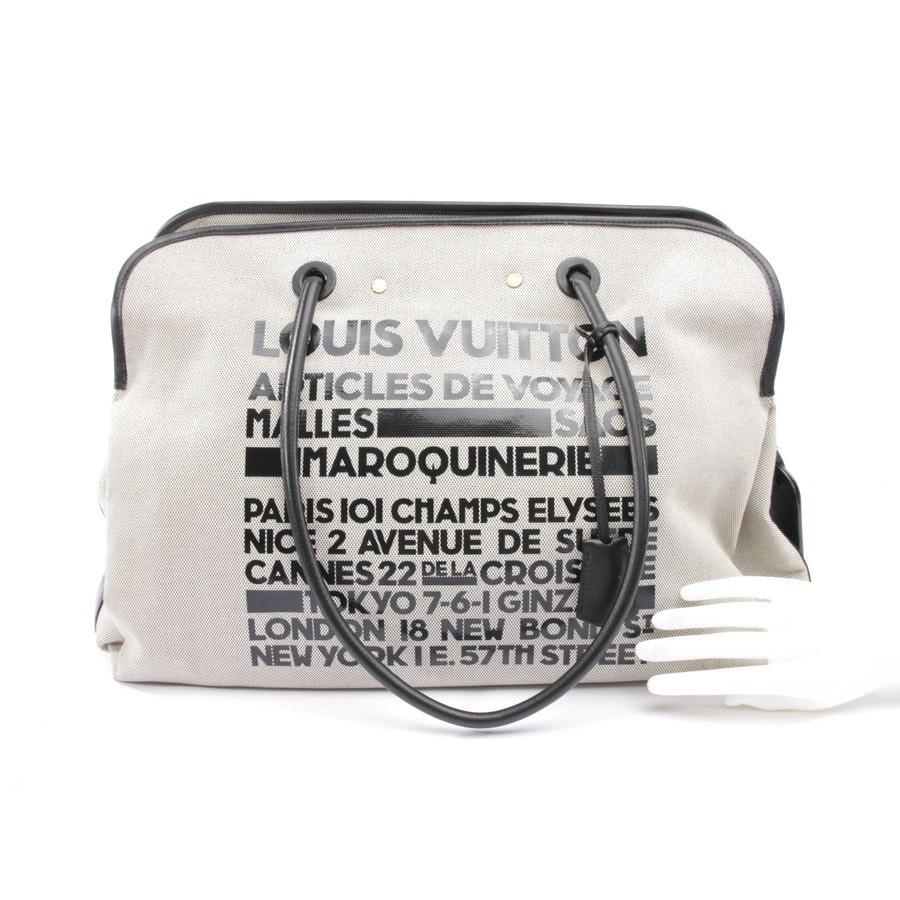 Weekender von Louis Vuitton in Beige und Schwarz