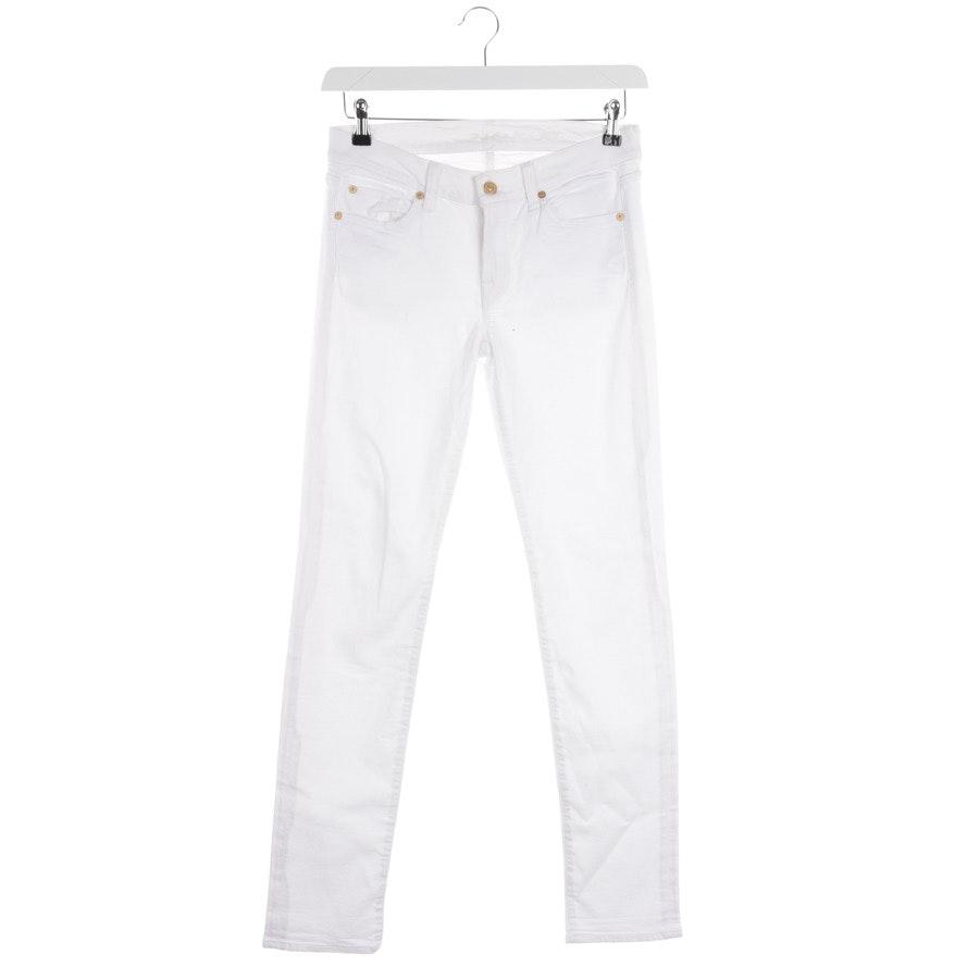 Jeans von 7 for all mankind in Weiß Gr. W29
