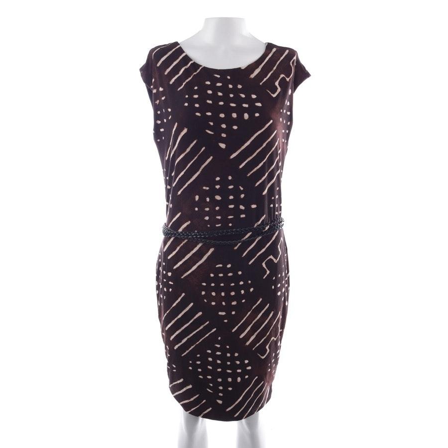 Kleid von Lauren Ralph Lauren in Braun und Beige Gr. XS