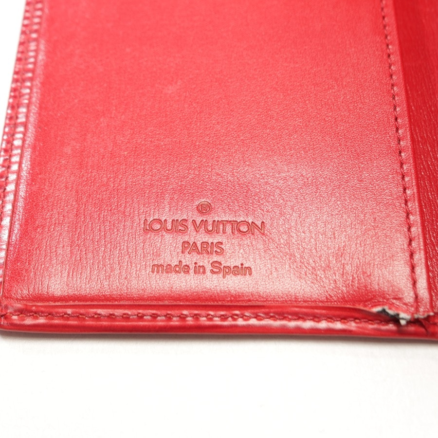 Kartenetui von Louis Vuitton in Rot