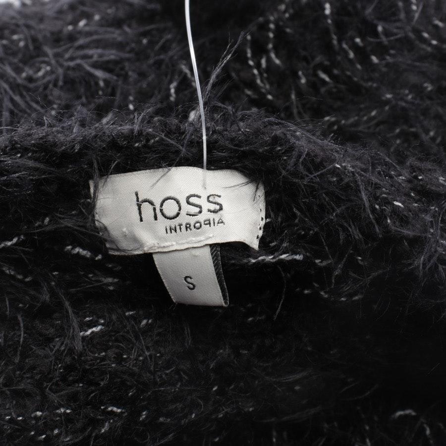 Strickkleid von Hoss Intropia in Schwarz und Weiß Gr. S