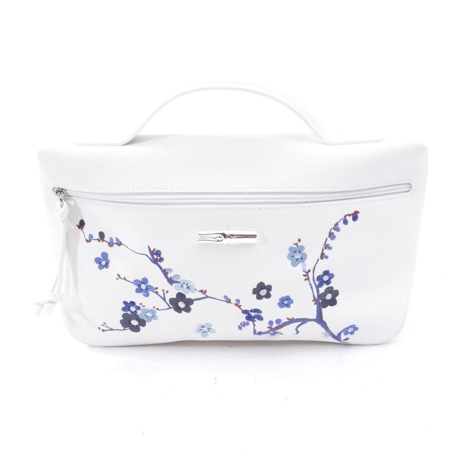 Handtasche von Longchamp in Weiß und Mehrfarbig