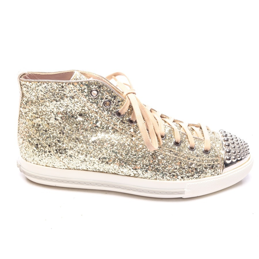 trainers from Miu Miu in gold size EUR 40,5