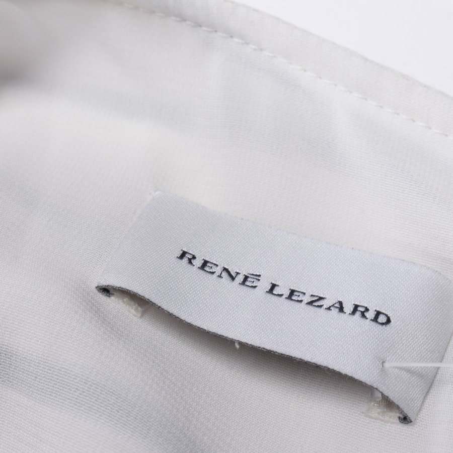 dress from René Lezard in champagne and blue size 38