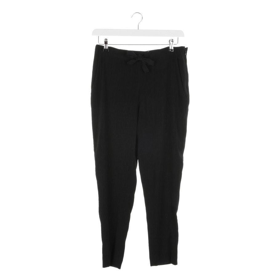 trousers from Sonia Rykiel in black size W38