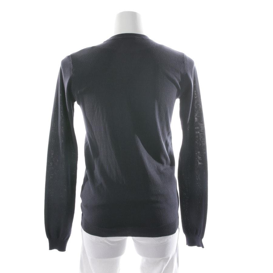 Feinstrickjacke von Armani Jeans in Dunkelblau und Multicolor Gr. 36 IT 42