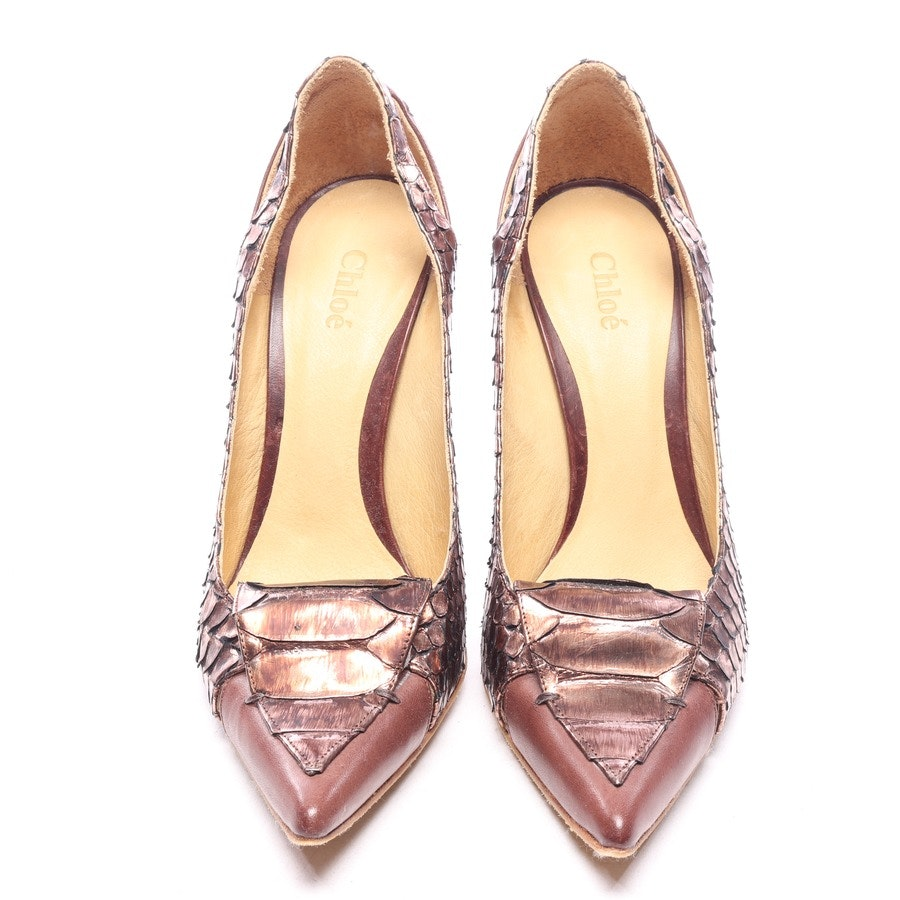 pumps from Chloé in copper size EUR 37,5