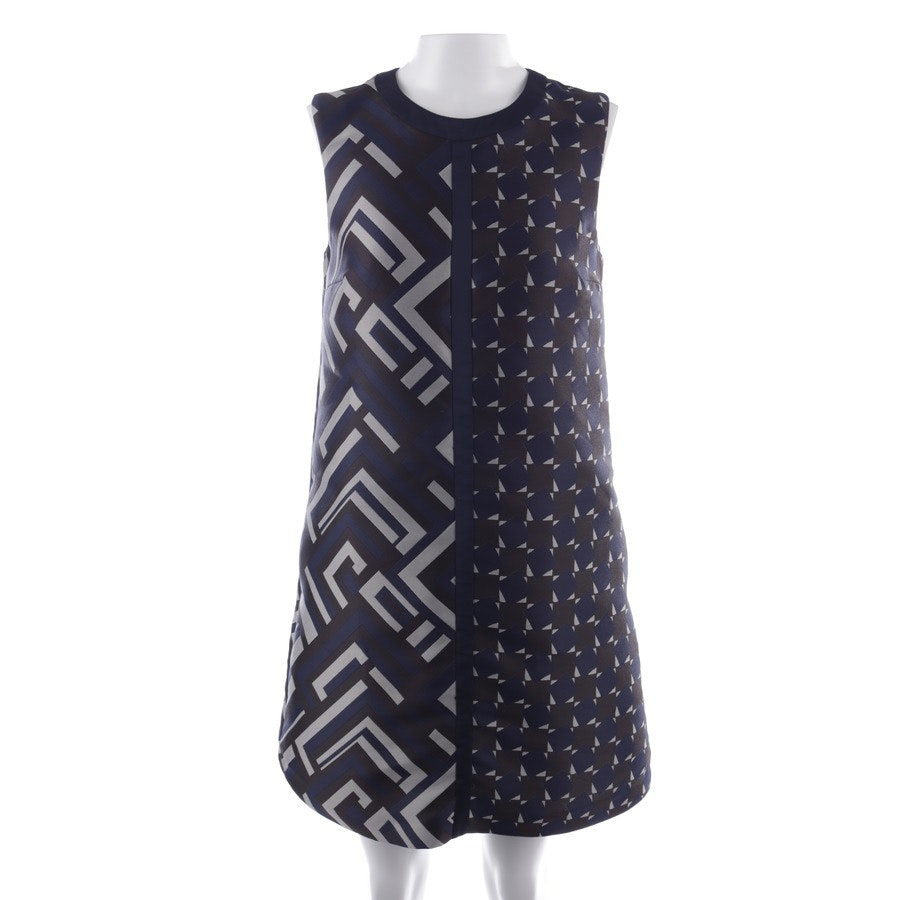 dress from Max Mara in blue and grey size 36
