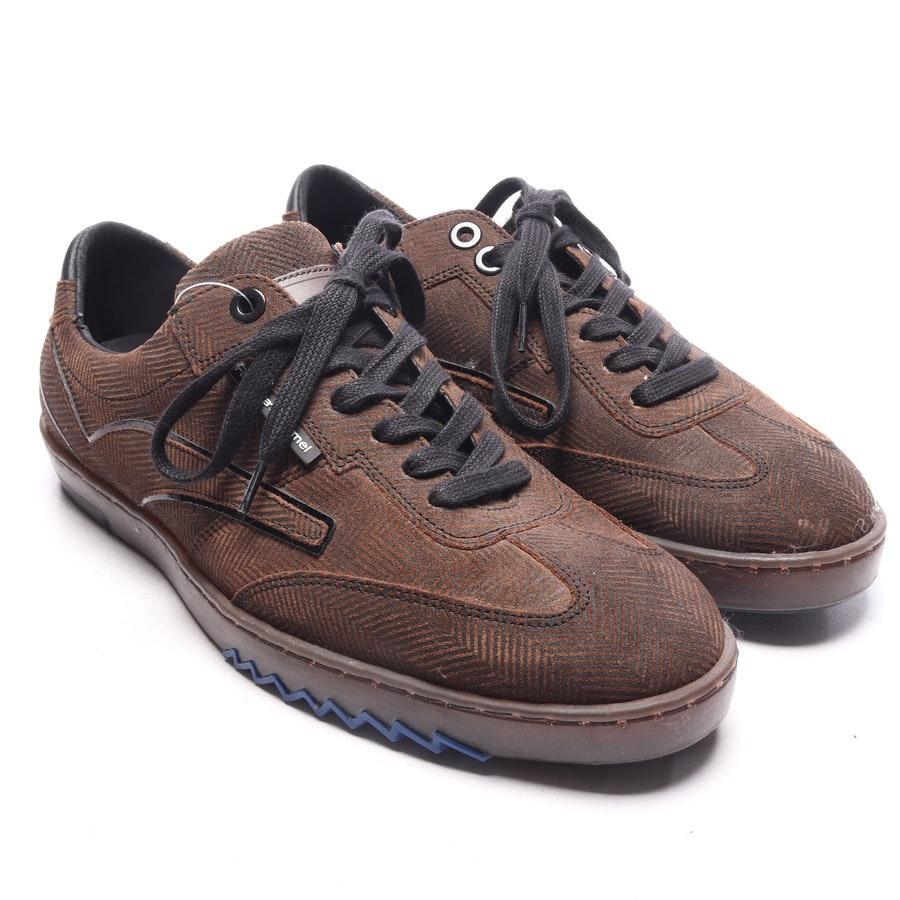 Sneaker von Floris van Bommel in Dunkelbraun und Schwarz Gr. EUR 39 UK6
