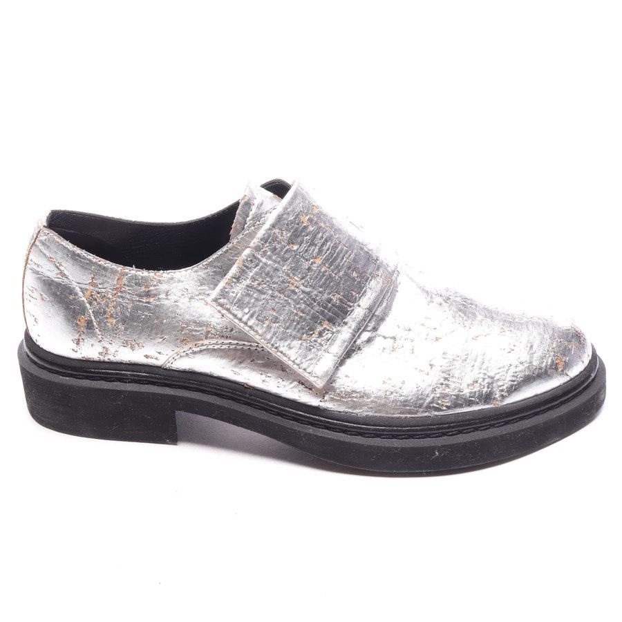 Sneaker von Alexander McQueen in Silber und Beige Gr. EUR 36