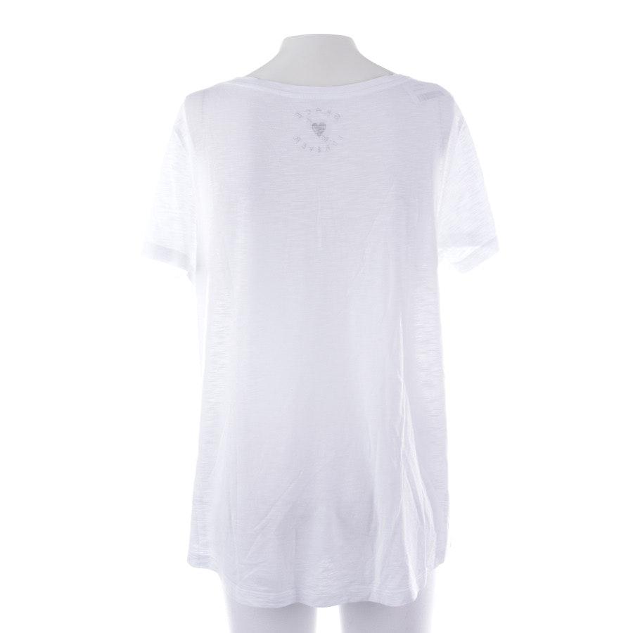 Shirt von Grace in Weiß Gr. XS