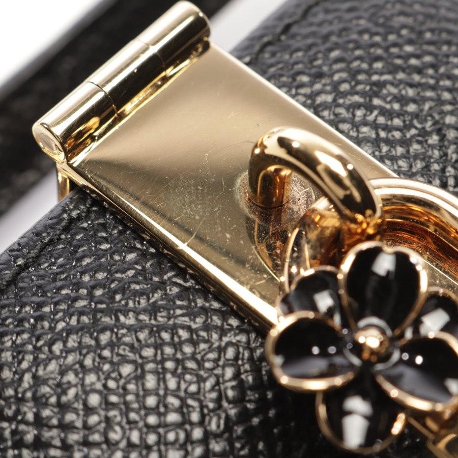 Zigarettenetui von Dolce & Gabbana in Schwarz