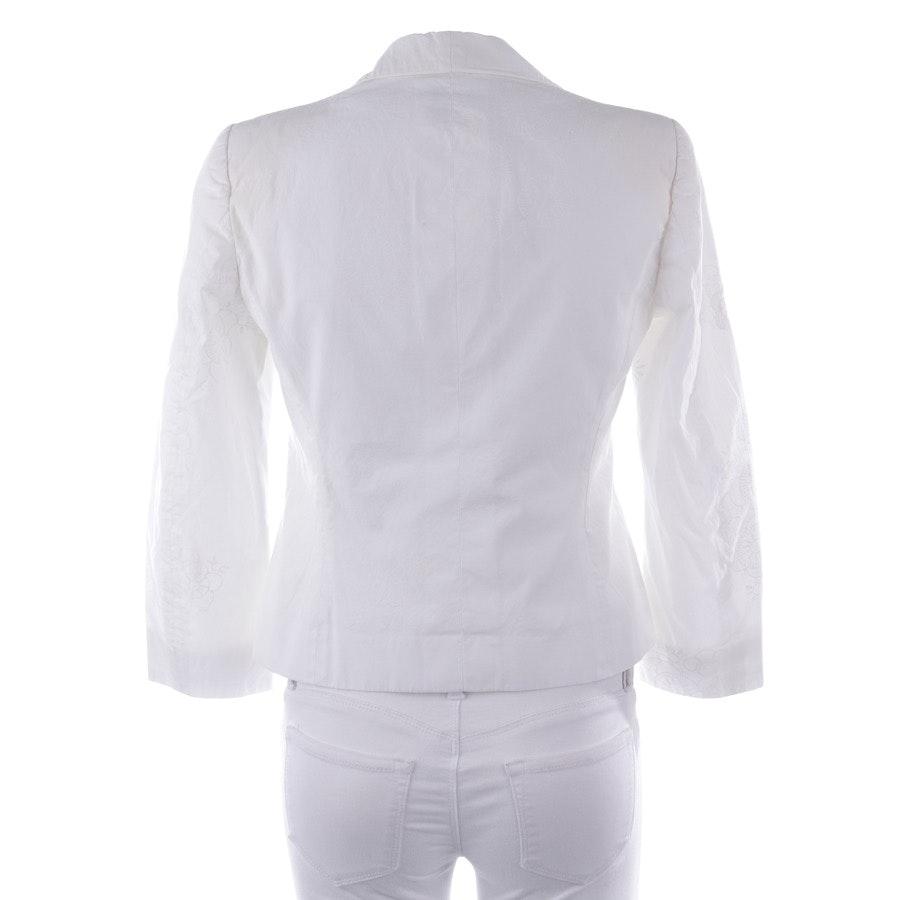 Blazer von Moschino Cheap & Chic in Weiß Gr. 36