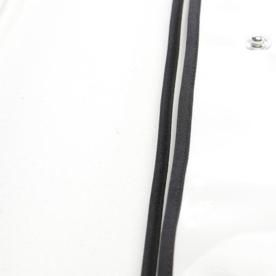 Übergangsjacke von Twin Set in Weiß und Schwarz Gr. 44