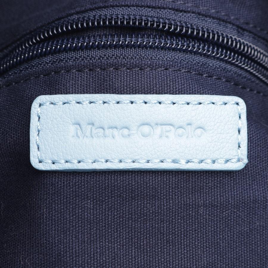 Schultertasche von Marc O'Polo in Hellblau