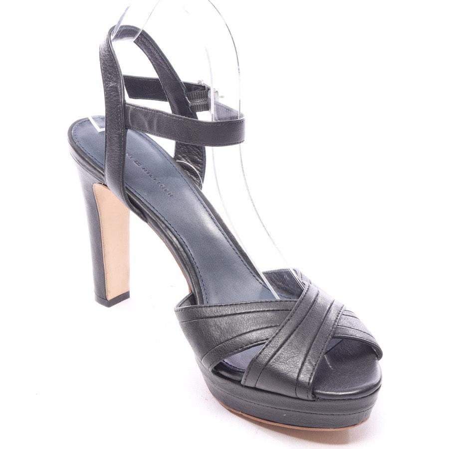 Sandaletten von Tommy Hilfiger in Schwarz Gr. EUR 42 - Neu