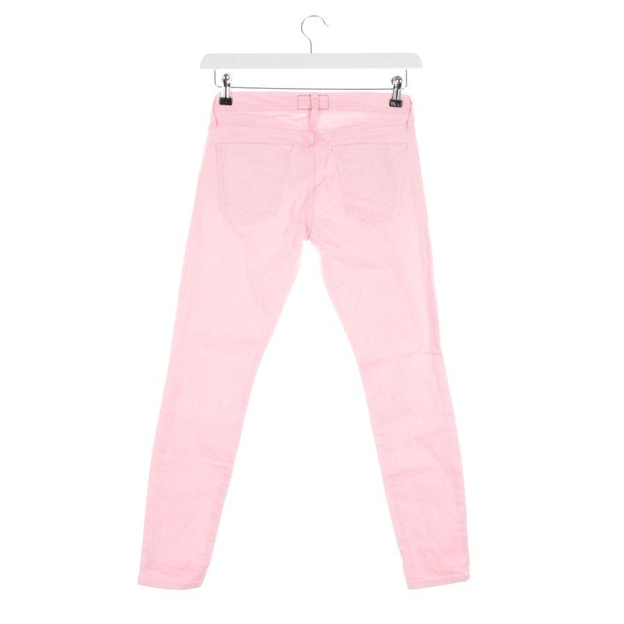 Jeans von Current/Elliott in Rosa Gr. W25 - The Stiletto