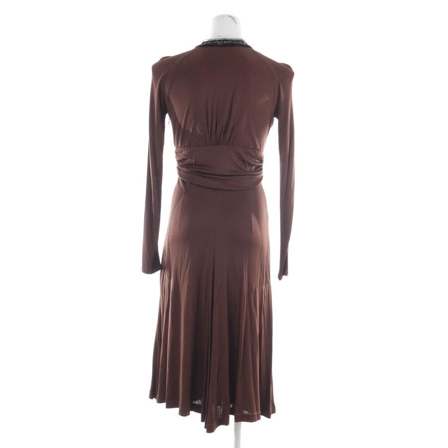 Kleid von Talbot Runhof in Kakaobraun Gr. 36