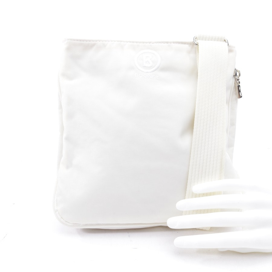 non-leather bags from Bogner in wool white