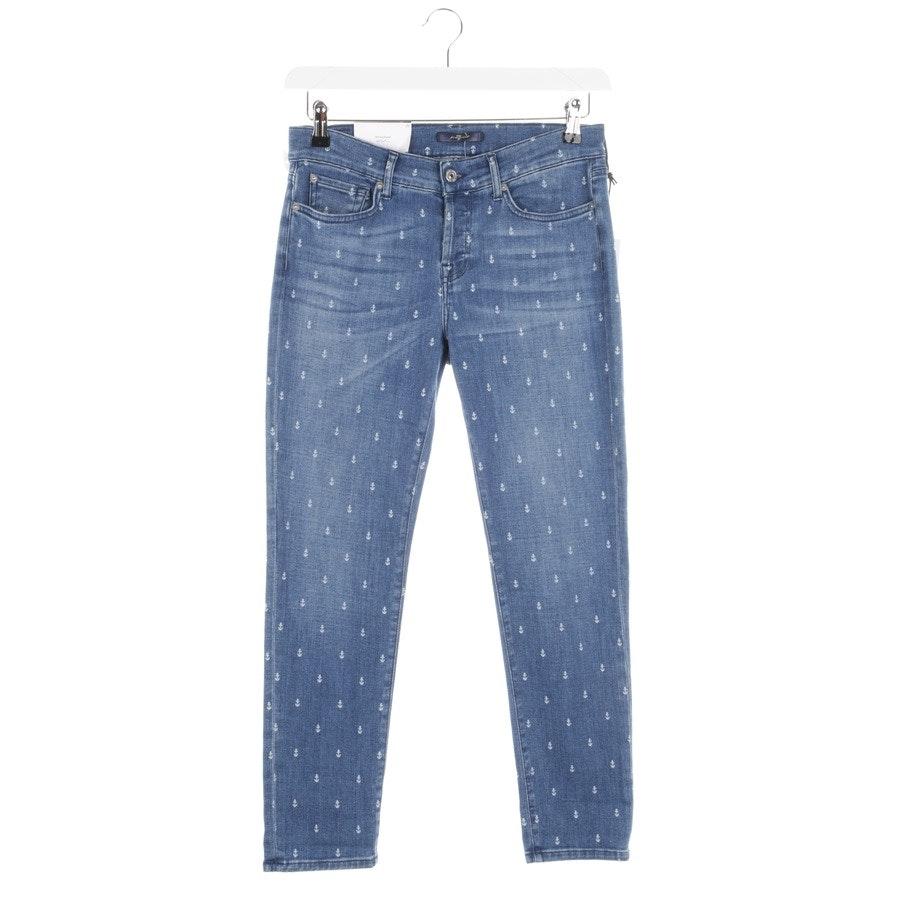 Jeans von 7 for all mankind in Blau Gr. W25